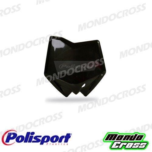 MONDOCROSS Tabella portanumero anteriore POLISPORT Nero Colore OEM 2005/2008 HUSQVARNA 125 CR 06-11 250 TC 06-11 450 TC 06-10 510 TC 06-10