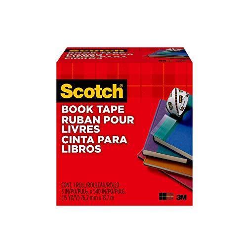 Scotch FF084574 Buchreparatur-Klebeband (76,2 mm x 13,7 m) transparent