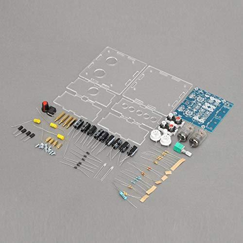 Condensadores de válvulas de tubo de válvula preamplificadora de graves en kit de bricolaje musical Fidelity con funda 6J1