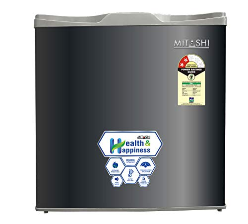 Mitashi 52 L 2 Star ( 2019 ) Direct-Cool Single Door Refrigerator (MSD052RF200, grey)