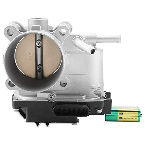 Akozon MN135985 Fuel Injection Throttle Body Electronic Throttle Body Assembly for Eclipse Galant 2.4L 2004 2005 2006 2007 2008 2009 2010 2011 2012 Aluminum ABS