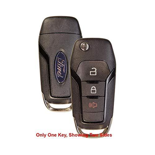 OEM Ford Flip Key Fob Keyless Entry Remote (FCC ID: N5F-AO8TAA / P/N: 164-R8130)