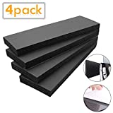 Kxuhivc Garage Wall Protector Car Door Corner Edge Waterproof Bumper Guard Protector High Density 11.8'x 3.9' x 0.8' Self Adhesive Foam Pad for Parking Vehicle