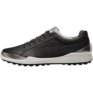 ECCO Men's Biom Hybrid Hydromax Golf Shoe, Black/Black Solid, 43 M EU (9-9.5 US)