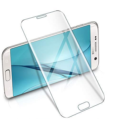 wsiiroon Panzerglasfolie kompatibel mit Samsung Galaxy S7 Edge, Hüllenfreundlich Panzerglas, Anti-blasenfrei Displayschutzfolie, [2 Stück] Ultra Dünn Samsung Galaxy S7 Edge Schutzfolie