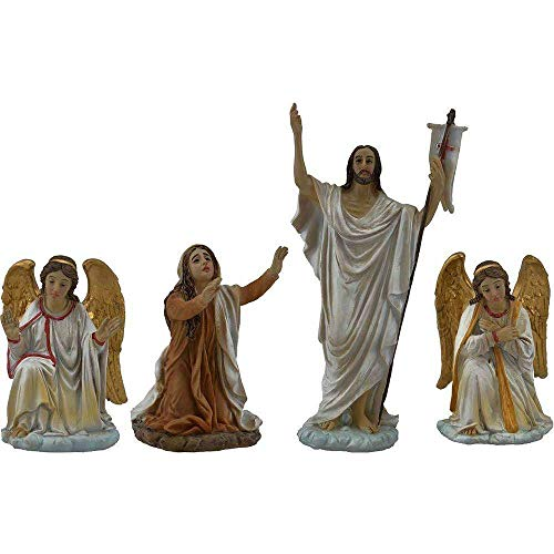 Paben Religious Articles Easter Nativity PP1 Set Jesus Climb to Calvary 4 subjects