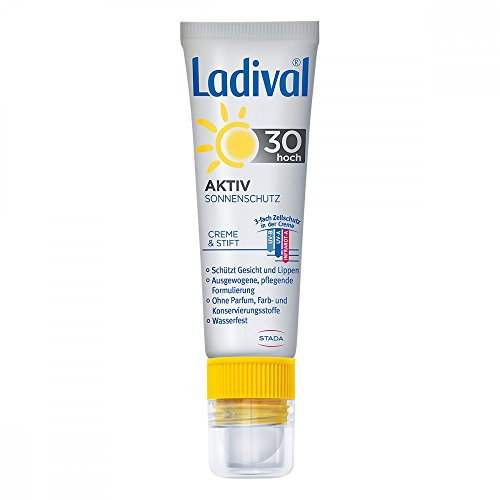 Ladival Aktiv Sonnenschutz Gesicht & Lippen LSF 30, 230 g