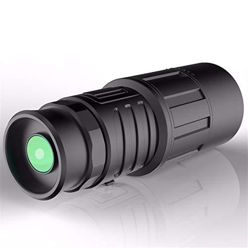 YUANYUAN520 Prismáticos Binoculares Militares HD 10x40 Telescopio De Caza Profesional Binocular Portátil Zoom Visión No Infrarrojo Ocular Negro (Color : Black)