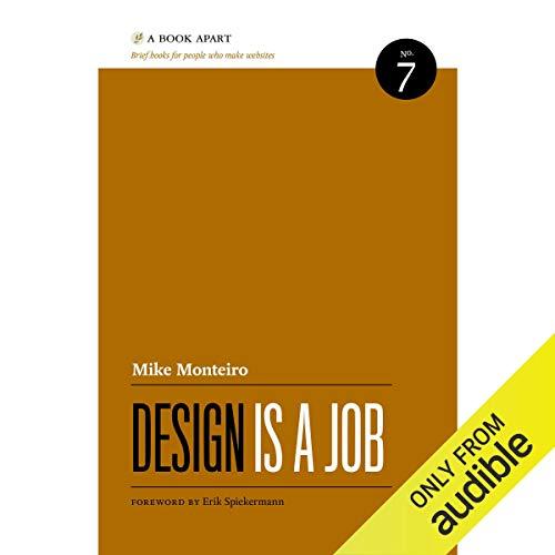 Design Is a Job audiobook cover art
