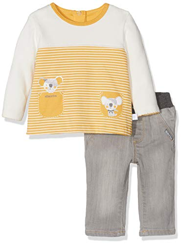 Absorba Baby-Mädchen 7p36331-ra Ens Pantalon Bekleidungsset, Grau (Grey Chiné 24), 18-24 Monate (Herstellergröße: 6M)