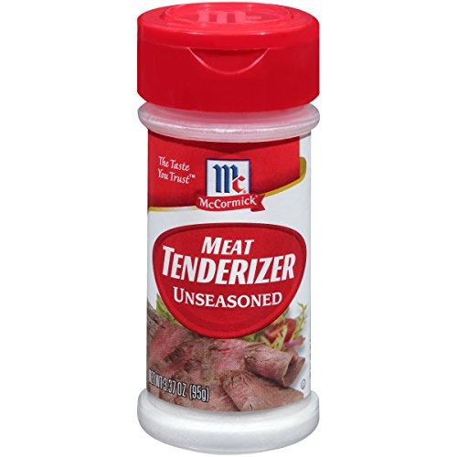 McCormick Non-Seasoned Meat Tenderizer, 3.37 oz