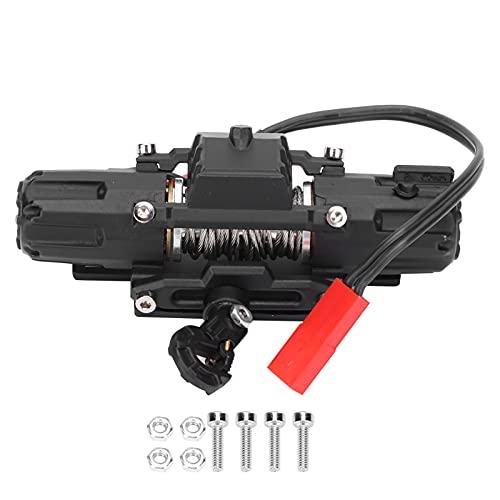 Drfeify Cabrestante de Motor Dual RC, Accesorio de Pieza de actualización de cabrestante de Motor Dual de Metal RC Compatible con SCX10 90046 D90 1/10 Modelo de Coche RC