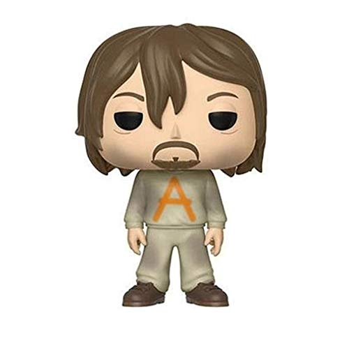 Good Buy Funko Pop Television : The Walking Dead - Daryl Dixon (Prison Suit) 3.75inch Vinyl Gift for Zombies Television Fans Figure