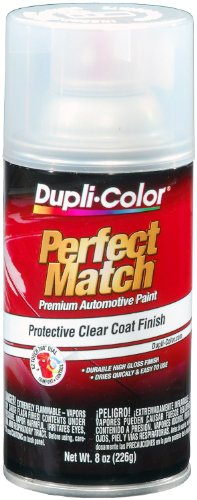 Dupli-Color BCL0125 Clear Exact-Match Automotive Top Coat, 8. Fluid_Ounces