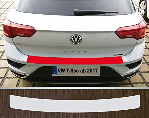 is-tuning passgenau für VW T-ROC ab 2017 Lackschutzfolie Ladekantenschutz transparent