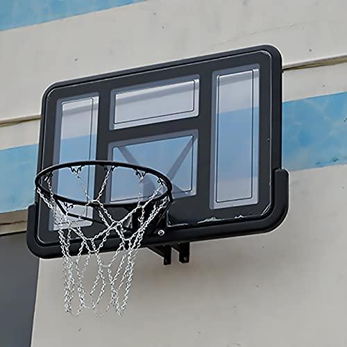 Canasta Tableros de Baloncesto Actividades Deportivas Soporte de aro de Baloncesto, Montado en la Pared Aro de Baloncesto por Adolescentes Niños Niñas Juguetes de Regalo Tablero Grande