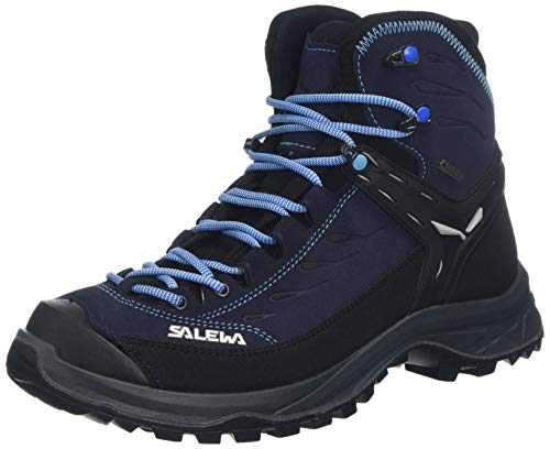 Salewa Damen WS Hike Trainer Mid Gore-TEX Trekking- & Wanderstiefel, Hector/French Blue, 41 EU