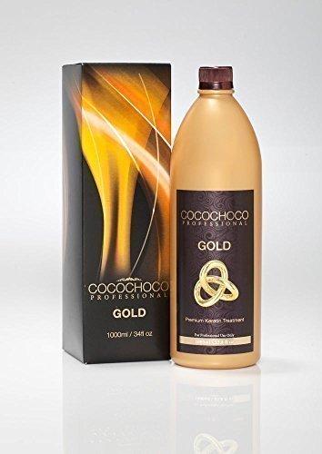 cocochoco Gold Brazilian Blow Dry Haar Glättung Keratin Behandlung 1000ml