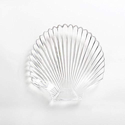 Teller Kreative Obstschale Ocean Series Glasschale Kaltschale Seestern Muschel Jakobsmuschelschale Getrocknete Obstteller Bestecksets B.