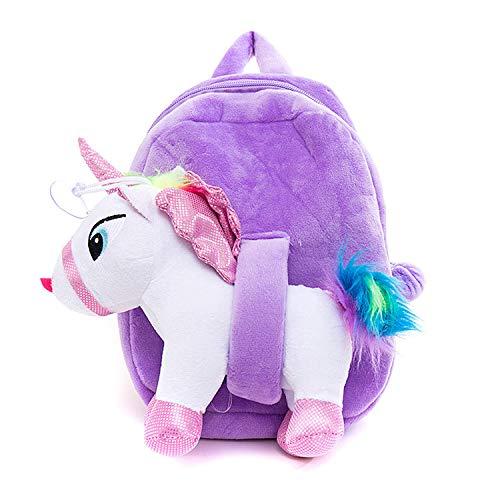 Mochila escolar unicornio niña
