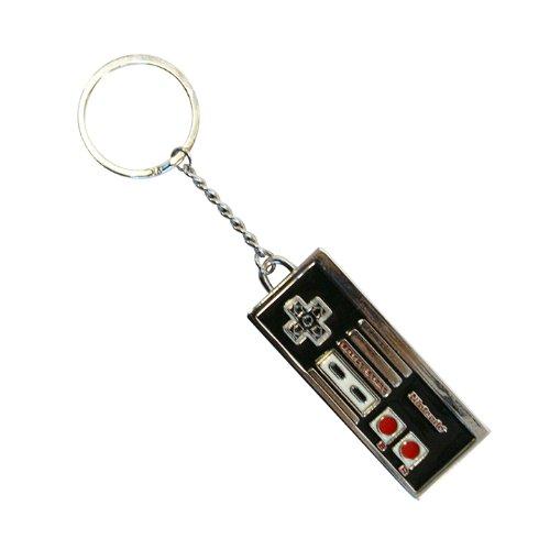 Nintendo Official NES Controller Enamel & Metal Keyring by Bioworl