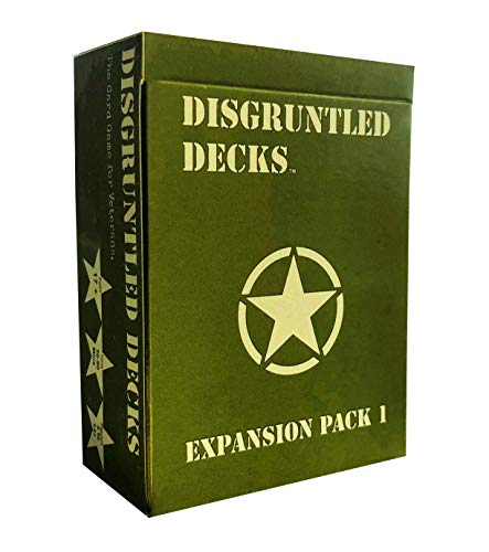Disgruntled Decks - The Card Game for Veterans - Army Themed Expansion Pack