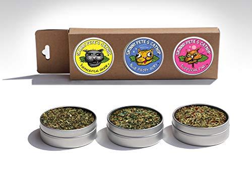 Three Piece Gourmet Catnip Gift Set