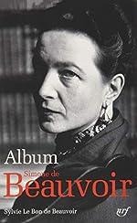 Album Simone de Beauvoir ( français) Relié de Sylvie Le Bon de Beauvoir