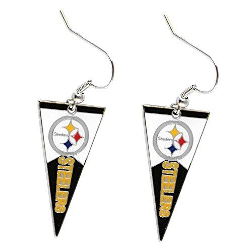 NFL Pittsburgh Steelers Pennant Earrings