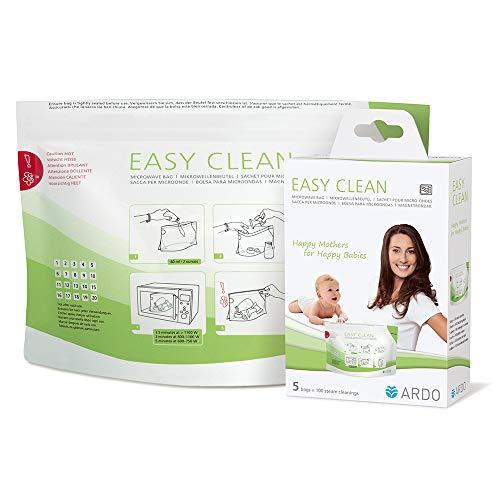 Ardo Easy Clean Mikrowellenbeutel (zur Dampfreinigung von Stillzubehör und Fläschchen)