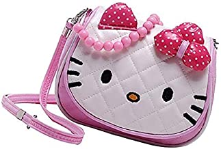Sanjis Cartoon Character Kitty Crossbody Hand Purse for Girls Kids Toddler Mini Cute Princess Handbags Shoulder Messenger ...