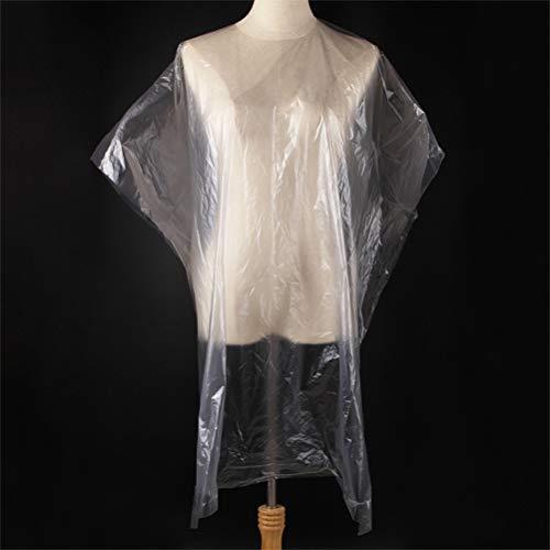 Macabolo Lot de 50 écharpes jetables pour coupe de cheveux - Imperméable - Coupe de cheveux - Tablier de coiffure - Outil pour adultes (130 x 92 cm)