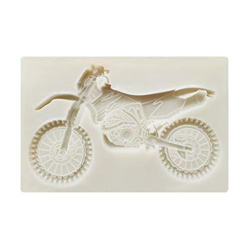 Boji Silikonformen,3D Motorrad Silikonformen Sugarcraft Kuchen Dekorieren Fondant Schimmel DIY Backen Ton Süßigkeiten Schokolade Gumpaste Formen