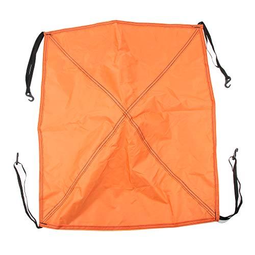 IPOTCH Camping Zelt Sonnenschutz Regenschutz für Outdoor Reise - Orange