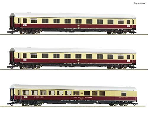 "Roco 74073 3-TLG. Set 2: Tee 74/75 ""Roland"", DB - Spur H0 - Neu"