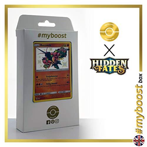 Buzzwole (Mouscoto) SV24/SV94 Chromatique - #myboost X Sun & Moon 11.5 Hidden Fates - Coffret de 10 Cartes Pokémon Aglaises