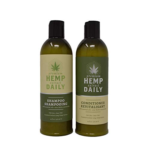 Hemp Daily Shampoo and Conditioner