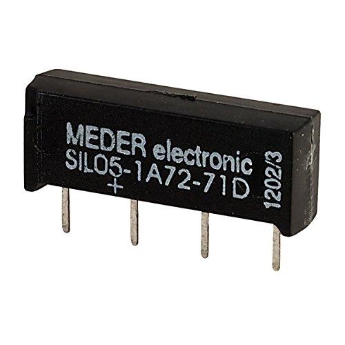 SIA05D-500 SIL-Reed-Relais 5V= 1xEIN 500 Ohm +Diode par.