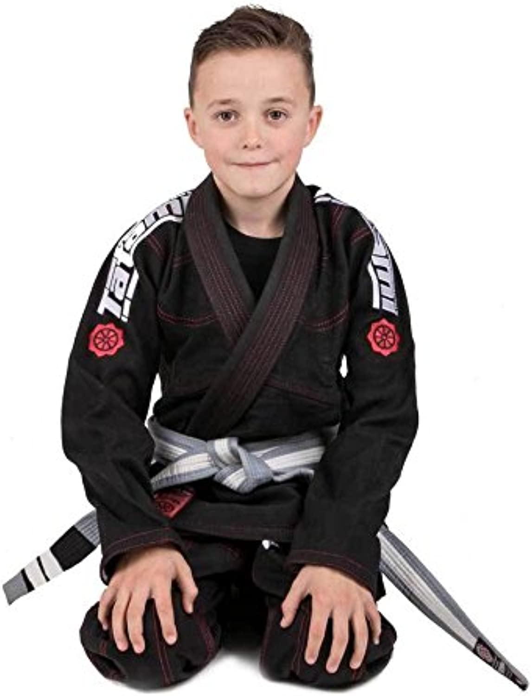 Tatami Fightwear Kids Japan Series Maple Koi GI Black
