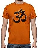 latostadora - Camiseta Ohm para Hombre Naranja 3XL