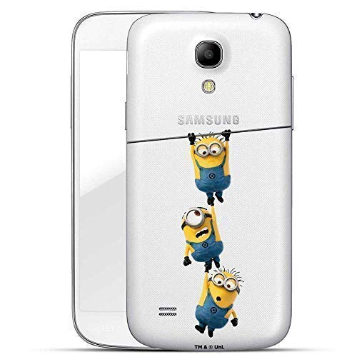 Hülle für Samsung Galaxy S4 - Minions Handyhülle mit Motiv und Optimalen Schutz Tasche Case Hardcase Cover Schutzhülle - Minions hängen