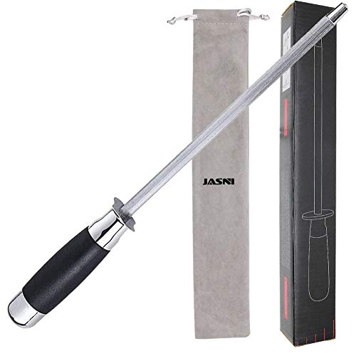 Diamond Knife Sharpener Honing Rod Stick, Household Steel Home Premium,...