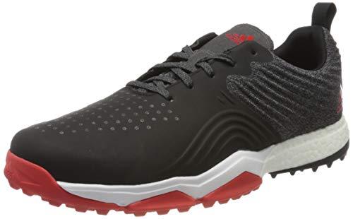adidas Herren Adipower 4orged S Golfschuhe, Weiß (Negro/Blanco/Rojo B37175), 41 1/3 EU