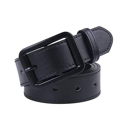 SSMDYLYM Pantalones Hombres Clásico Pin Hebilla Cinturón Casual Business Men's Cinturón Cinturón de Pantalones para Hombres para Hombres Cinturones para Hombres