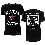 Rage Against The Machine T Shirt Battle Star Band Logo Nuevo Oficial De Los Size XL