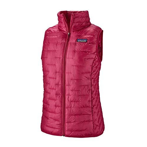 Patagonia W Micro Puff Vest Pink, Damen Daunen Weste, Größe L - Farbe Craft Pink