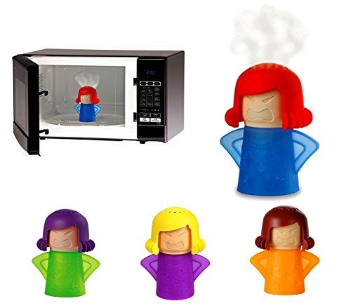 179108 Accesorio de plástico para la limpieza de microondas CLEAN MAMA sin jabón