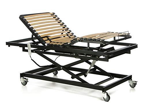 Ferlex - Cama articulada geriátrica con Carro Elevador (90x190)