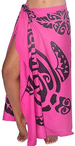Las mujeres cubren la falda de la hoja del bikini traje de bao abrigo protector solar chal playa verano mini vestido