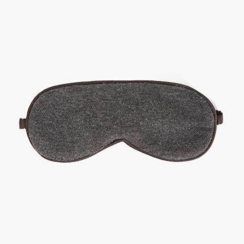 YHWLKK Schlaf Augenmaske mit und Gummiband, weich und glatt Augen-Abdeckung for Männer & Frauen Nacht Schlafen, Reisen, Nap